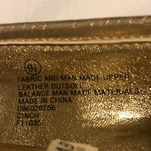 Loeffler Randall Shoes - Loeffler Randall gold flats